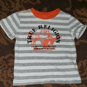 EUC True Religion 2T toddler t shirt